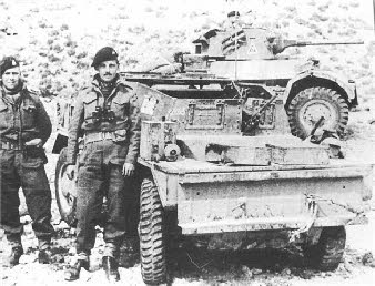 Daimler Dingo 6th Airborne Armoured Reconnaissance Regiment